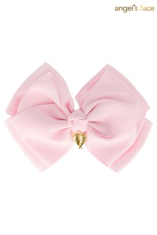 Angel's Face Pink Giant Fairy Bow