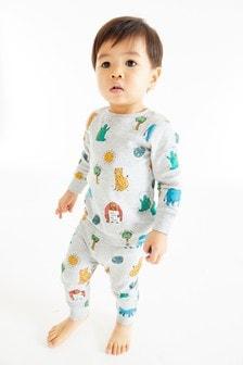 Пижама со звериным принтом (9 мес. - 8 лет)