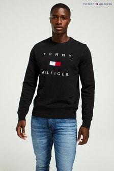 Tommy Hilfiger ブラック フラッグ スウェットシャツ