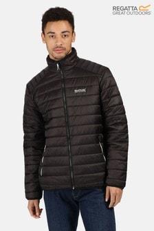 Regatta Black Freezeway Ii Insulated Baffle Jacket