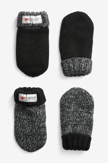 Набор из двух пар рукавичек Thinsulate® (Младшего возраста)