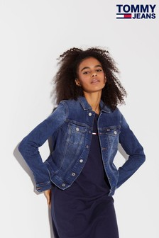 Tommy Jeans Slim Denim Trucker Jacket