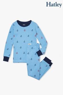 Hatley Anchors Away Organic Cotton Pyjama Set