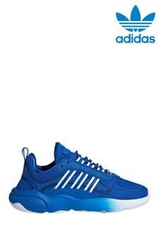 adidas Originals Blue/White Haiwee Junior Trainers