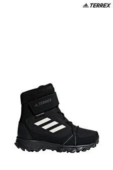 Черные зимние кроссовки adidas Terrex Junior & Youth