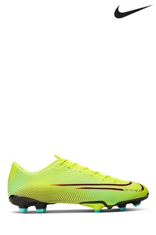 Nike Yellow Vapor 13 Academy Firm Ground Football Boots