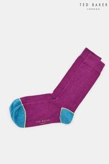 Chaussettes Ted Baker Jack en coton à bordures contrastantes