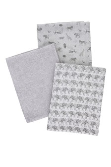 3 Pack Sam Faiers Little Knightley's Muslin Cloths