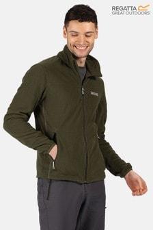 Regatta Green Stanner Full Zip Fleece Jacket
