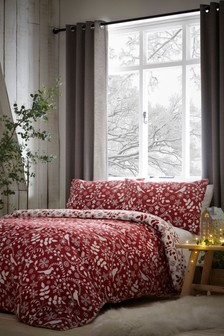 Fusion Brushed Cotton Skandi Trees Duvet Cover and Pillowcase Set