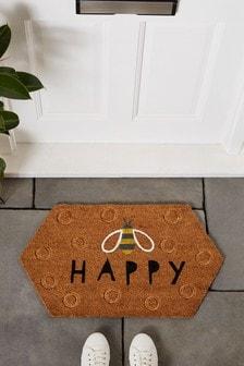 Bee Honeycomb Doormat
