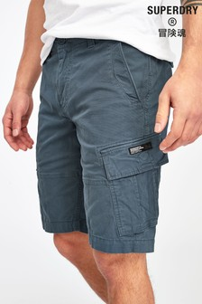 Superdry Navy Cargo Shorts