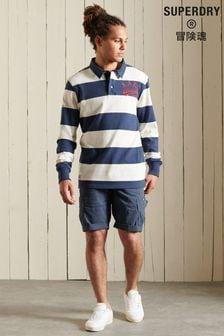 Superdry Cargo-Shorts, marineblau