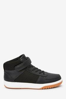 Ботинки на липучках с эластичными шнурками  (Подростки)