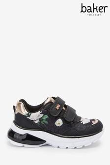 حذاء رياضي مشجر مرقط أسود من Baker By Ted Baker