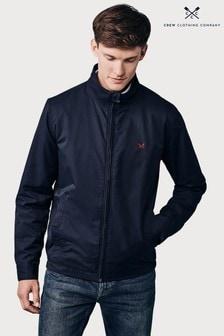 Crew Clothing Company Blue Harrington Jacket