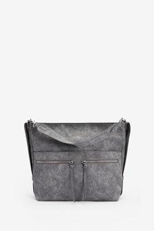 Объемная сумка-хобо