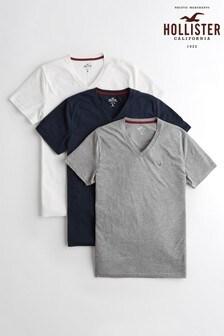 Hollister Multi T-Shirts Three Pack