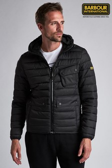 Barbour® International Ouston Hooded Quilted Jacket