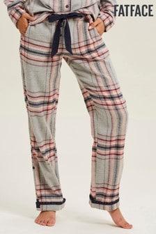 Pantalones clásicos con diseño de cuadros multicolor de FatFace