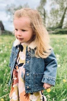 Куртка с подкладкой «под овчину» (3 мес.-7 лет)