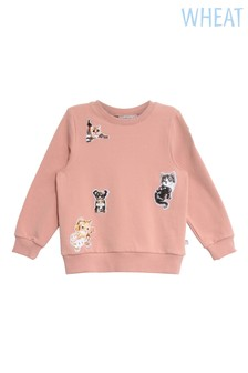 Wheat Pink Eline Sweatshirt