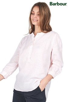 Barbour® Coastal Dover Bluse inRelaxed Fit aus gestreifter Baumwolle