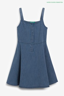 Benetton Navy Strap Dress