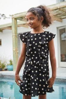 Kleid mit Rüschendetails (3-16yrs)