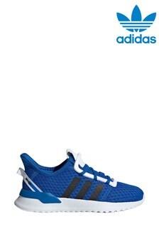 נעליספורט לילדיםשלadidasOriginals דגםUPatch בצבעכחול
