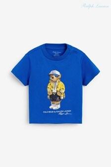 Ralph Lauren Blue Bear T-Shirt