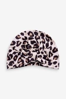 Leopard Turban (0-18mths)
