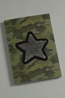 Блокнот формата А5 с камуфляжным принтом