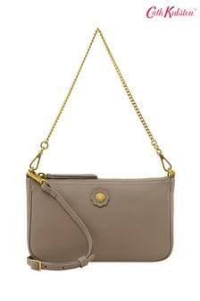 Cath Kidston® Nappa Leather Demi Bag