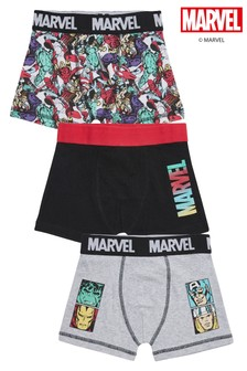 3 Pack Marvel® Trunks (2-12yrs)
