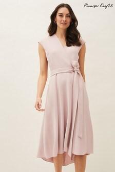 שמלה של Phase Eight מדגם Livvy בצבע ורוד