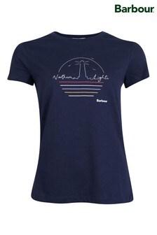 חולצתטיLighthouse Auklet בכחול כהה שלBarbour® Coastal