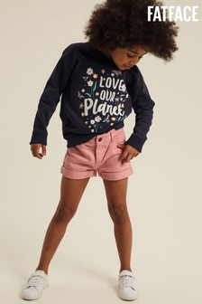 FatFace Pink Charlotte 5 Pocket Shorts