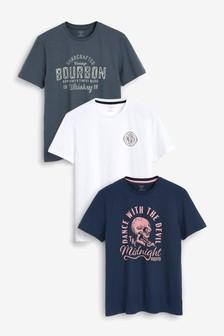 3 футболки с рисунком