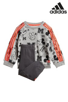 adidas Infant Grey Mickey Mouse™ Set