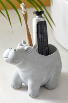 Harley Hippo Toothbrush Holder