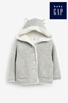 Серая куртка Gap