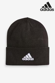 Шерстяная шапка с логотипом adidas