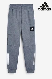 Темно-синие спортивные брюки adidas