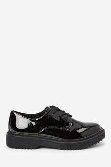 Туфли со шнуровкой на массивной подошве (Подростки)