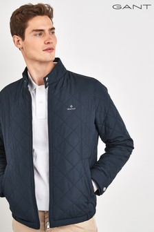 GANT Windcheater Steppjacke, Blau