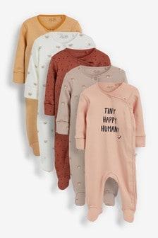 מארז5 חליפות שינה מודפסות (גילאי 0 עד 3)