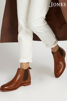 Кожаные женские ботинки Chelsea от Jones Bootmaker Khloe Goodyear
