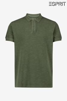 Esprit Men's Green Polo Shirt