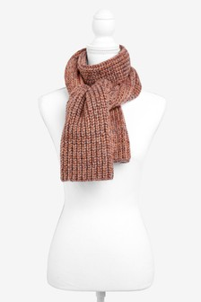 Metallic Rib Heavyweight Scarf